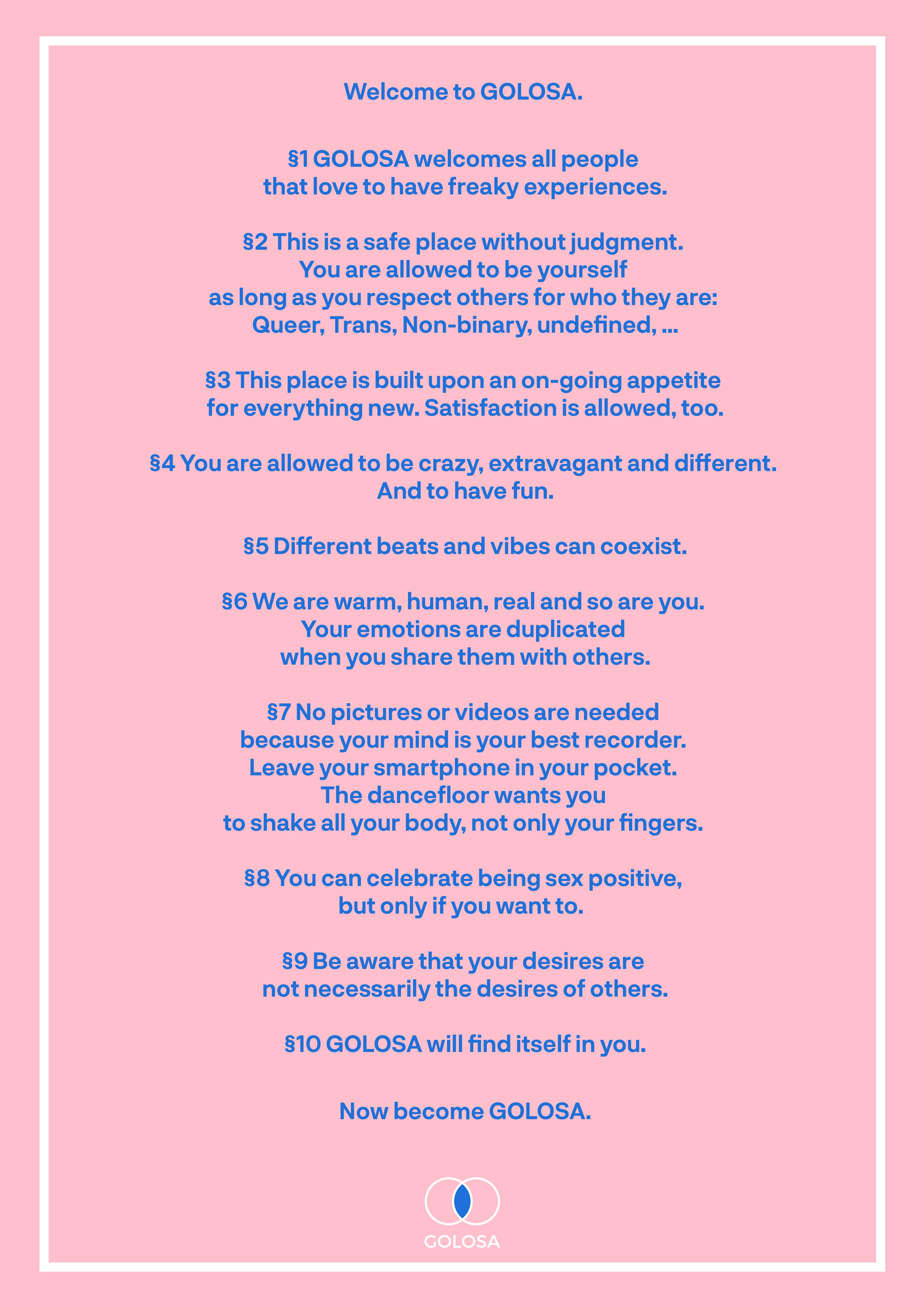 Manifesto Golosa